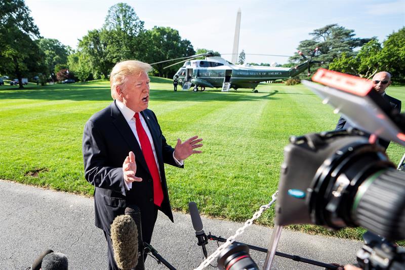 """Trump: """"México ha hecho fortuna a costa de los EEUU"""""""