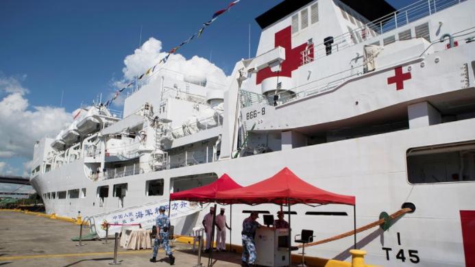Pence hablará sobre Venezuela al visitar el buque hospital de EE.UU. en Miami