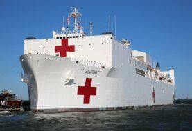 Buque hospital estadounidense zarpa para atender crisis humaniaria de venezolanos