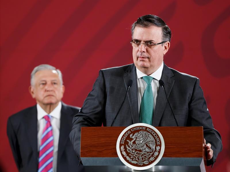 Ebrard defiende que México ya está haciendo cambios para frenar la migración