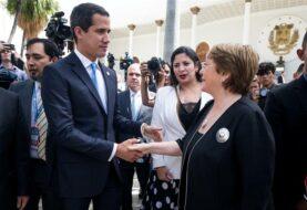 """Guaidó: """"Bachelet insiste en liberación de presos políticos en Venezuela"""""""
