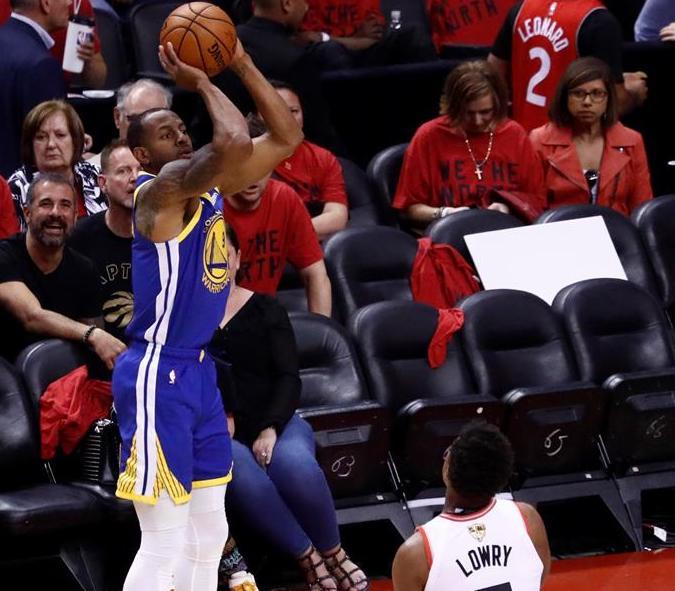 Warriors empatan la final de NBA