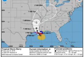 Luisiana se prepara para el impacto de la tormenta Barry