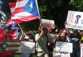 Puertorriqueños en Miami piden que gobernador Rosselló dimita tras escándalo