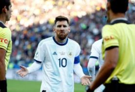 Conmebol suspende por tres meses a Messi
