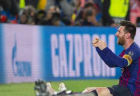 Messi gana la votación del Gol de la Temporada de la UEFA.com