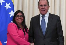 Delcy Rodríguez viaja a Moscú para reunirse con Lavrov