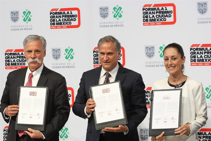 México firma contrato con la Fórmula Uno hasta 2022
