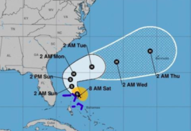 La tormenta tropical Humberto llegará a huracán, pero alejada de tierra