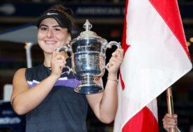 Andreescu, nueva reina del Abierto, entra en la historia del tenis femenino