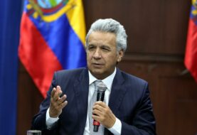 """Moreno llama """"asno"""" a Maduro y le culpa por la violencia en Ecuador"""