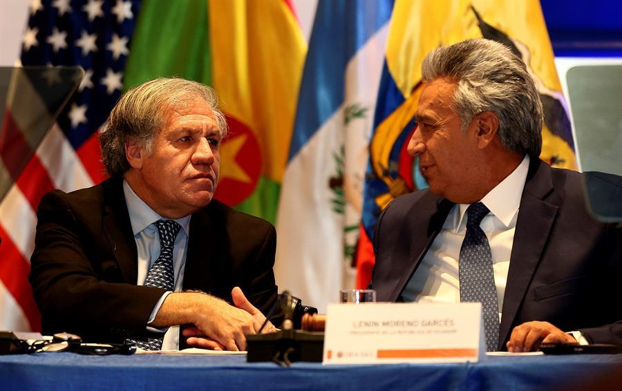 """Almagro denunció """"torturas salvajes"""" a presos políticos venezolanos"""