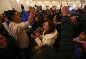 """Chavismo celebra el """"resonante triunfo"""" de Evo Morales"""
