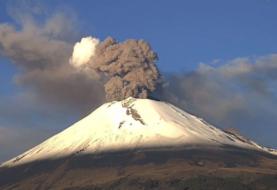 Volcán Popocatépetl registra 6 explosiones y 153 exhalaciones