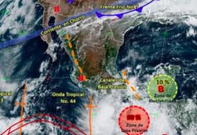 Ciclón tropical tocará tierra en el sur de México propiciando lluvias