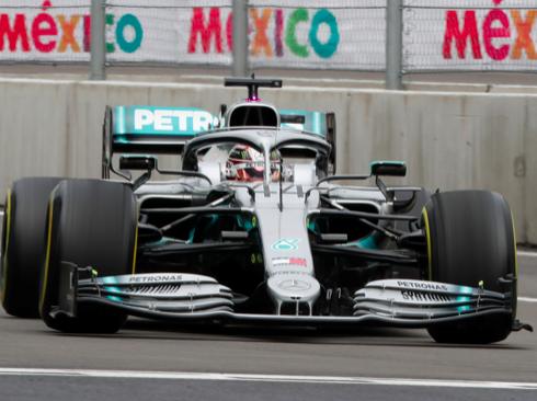 Hamilton lidera la primera práctica libre del Gran Premio de México