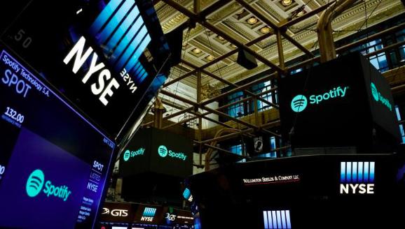 """Spotify sube un 15 % en bolsa por resultados y """"éxito inicial"""" de sus podcasts"""