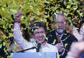 Claudia López es la primera alcaldesa elegida por elección popular en Bogotá