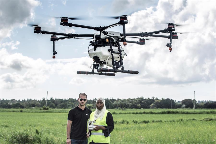 Utilizan drones para combatir el mosquito que produce la malaria