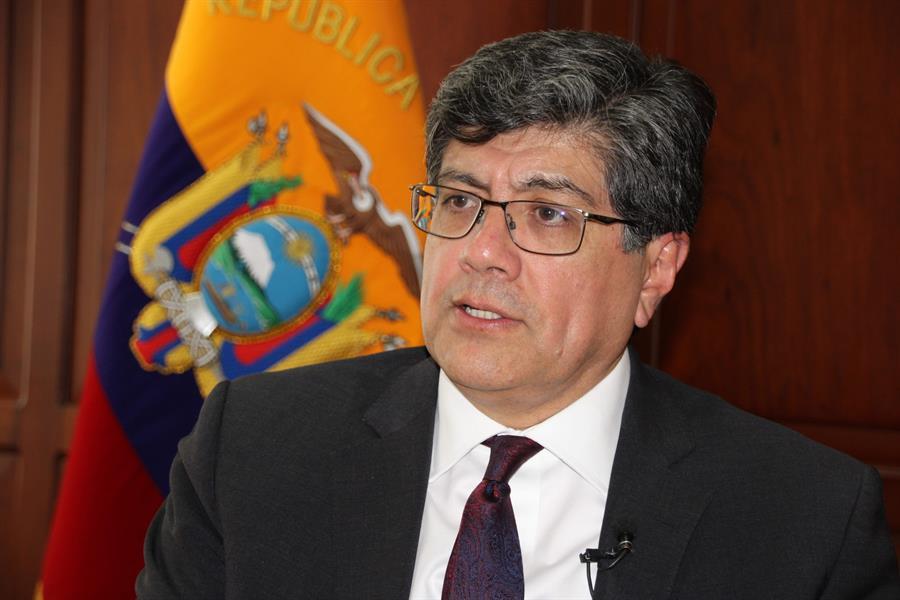 Almagro recibirá apoyo de Ecuador para su reelección a la OEA