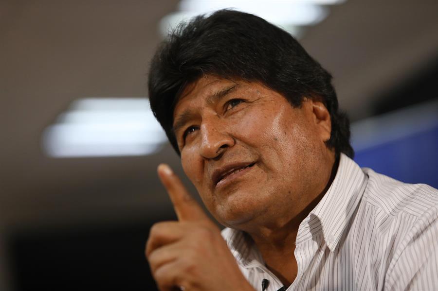 """Morales: """"Tengo mucho miedo a una guerra civil en Bolivia"""""""