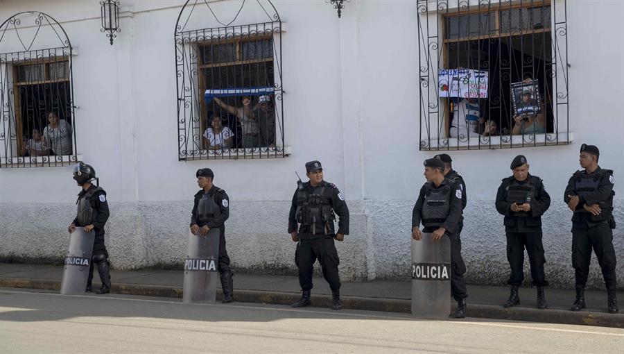 ONU condena el asedio policial a los huelguistas en iglesias nicaragüenses