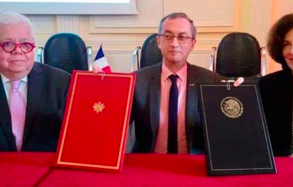 México y Francia firman una declaración de cooperación digital