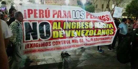Los incidentes con venezolanos reavivan el debate sobre la xenofobia en Perú