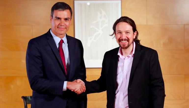 Pablo Iglesias podría llegar a la vicepresidencia tras pacto entre el PSOE y Podemos