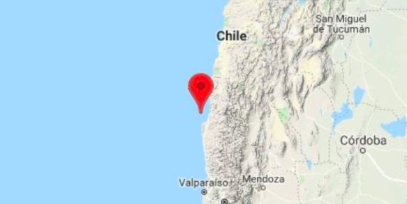 Temblor de magnitud 5,2 sacude centro de Chile y se siente en Santiago