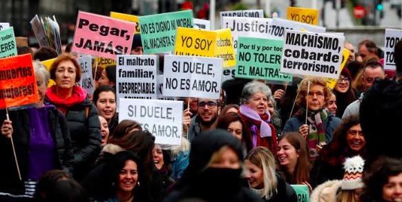 Activistas latinoamericanas levantan su voz contra la violencia machista
