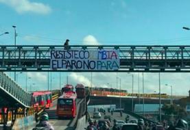 """Relativa normalidad en Bogotá a la espera del comienzo del """"paro nacional"""""""