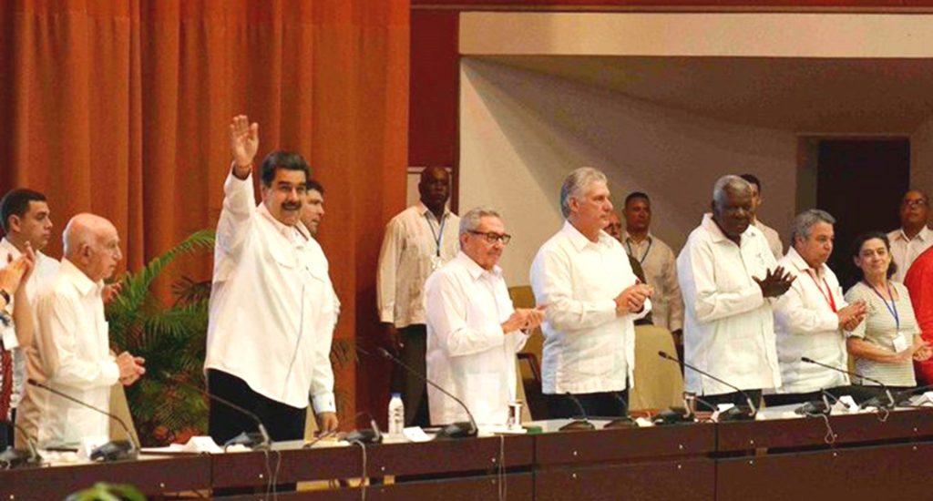 Maduro y Díaz-Canel llaman a aprovechar el repunte de la izquierda