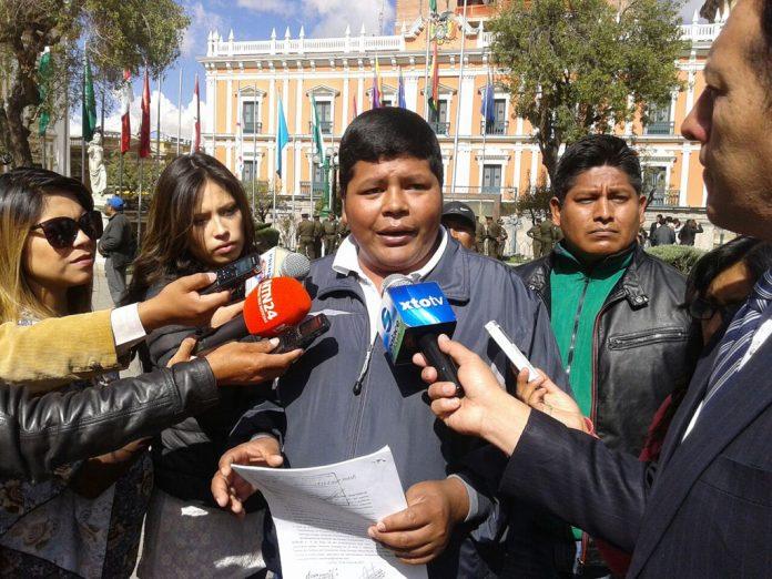 Primer preso político de Bolivia pide la unión del país