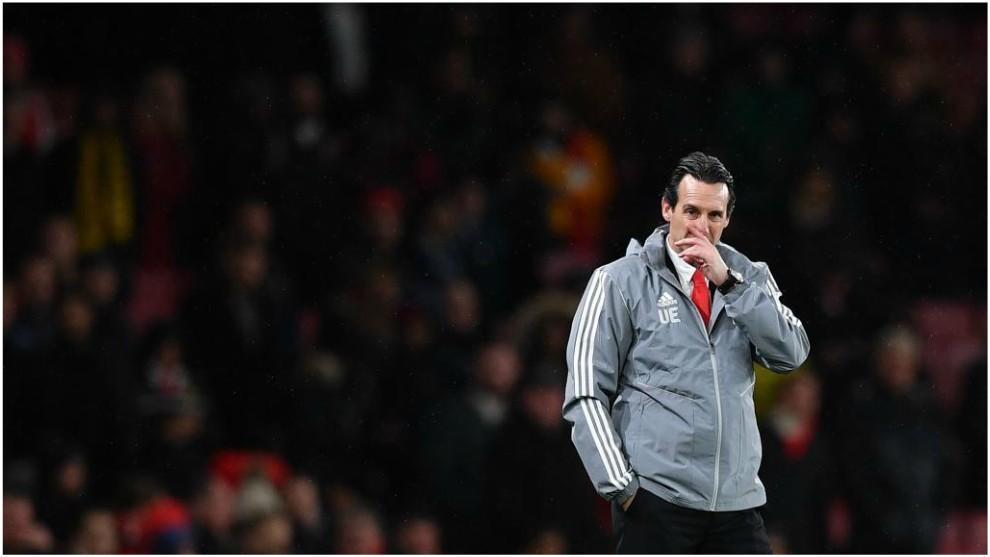 Unai Emery es despedido del Arsenal de la Premier