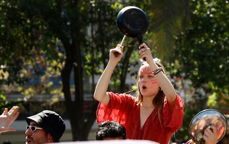 Cacerolazo: la banda sonora de la protesta sudamericana