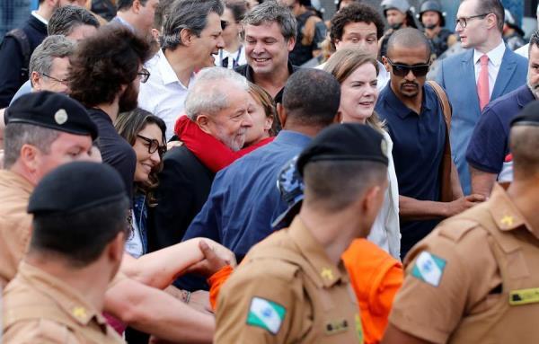 Suprema Corte brasileña decide liberar a Lula Da Silva