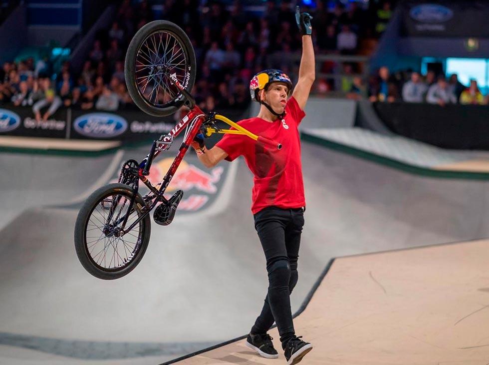 Venezolano Daniel Dhers en semifinales del Mundial de Chengdu