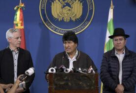 México ofrece asilo a Morales y políticos van a embajada en Bolivia