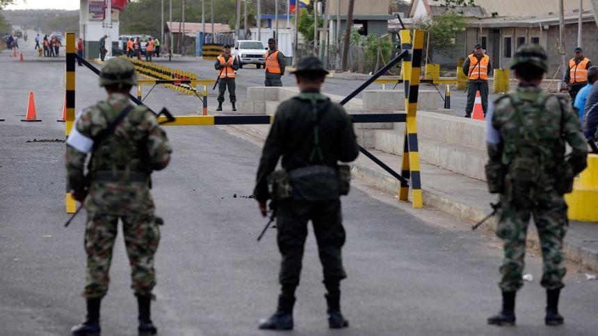 Colombia cerrará pasos fronterizos por jornada de protestas del jueves