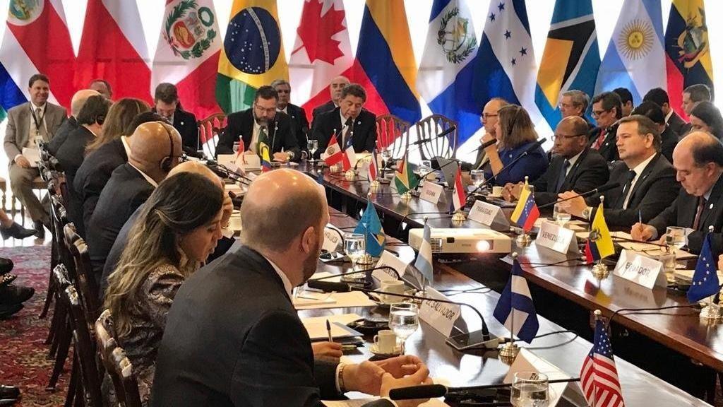 Perú propone al Grupo de Lima abrir diálogo con el régimen
