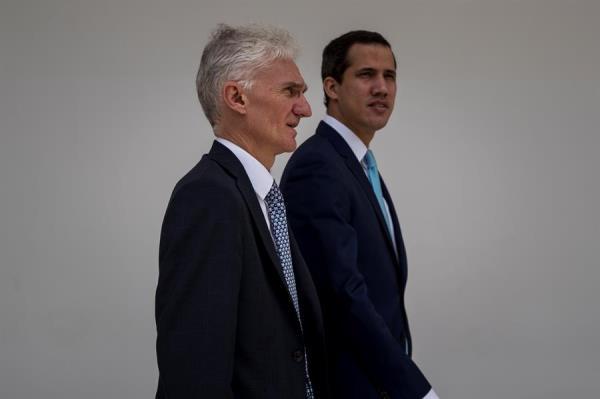 """Guaidó alerta a ONU que crisis en Venezuela está a punto de ser """"catástrofe"""""""