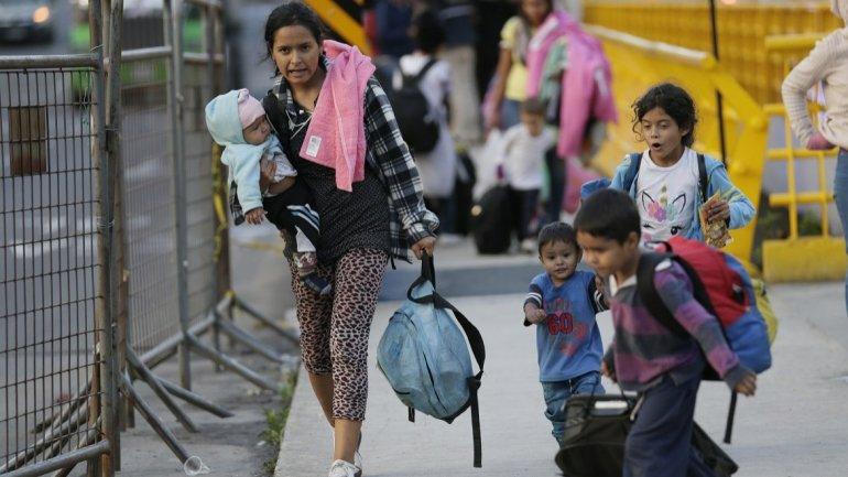 Un 54% de venezolanos en Colombia sufre inseguridad alimentaria