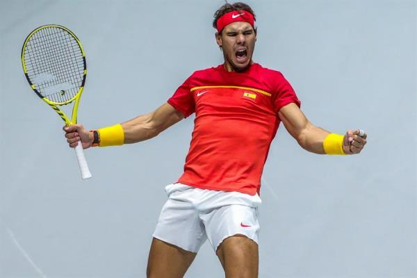 Nadal  y España logran las semifinales de la Davis