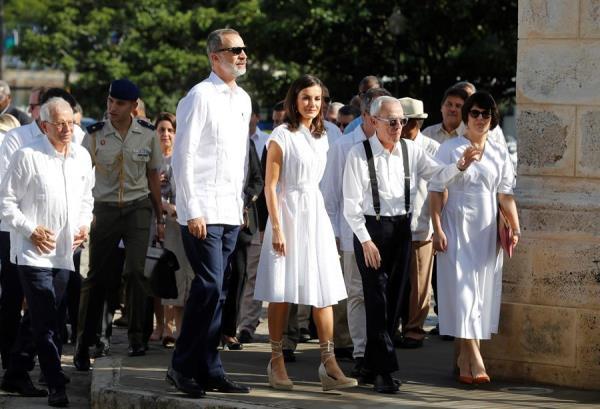 Los reyes visitan el lugar donde se fundó La Habana hace 500 años