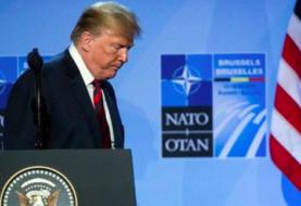 Trump cambia la tormenta política en EE.UU por un duelo con Macron en la OTAN