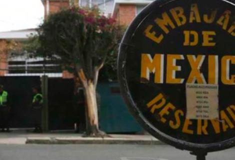 """México tiene """"comunicación necesaria"""" con Bolivia, pero niega haya diálogo"""