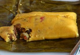 Hallacas y el pan de jamón llegan a Lima desde Venezuela