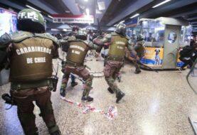 Policía chilena apunta a injerencia extranjera en los ataques al metro