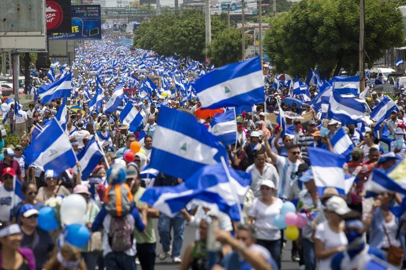 Oposición de Nicaragua urge a Pompeo a presionar para que Ortega respete DDHH